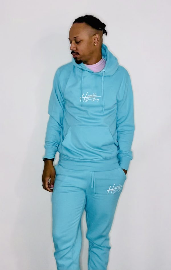 humble mint hoodie
